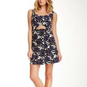 Rebecca Minkoff Hawk Dress Mini Floral Sleeveless